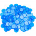 100 Pack Blue Bingo Marker Chips