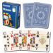 Modiano Cristallo Blue Plastic Playing Cards