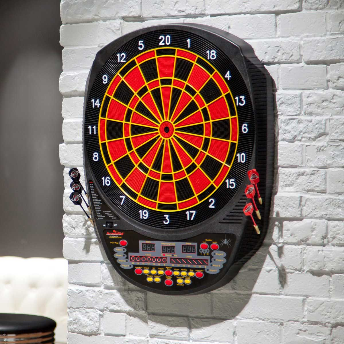 Arachnid Inter Active 6000 Electronic Dart Board Soft