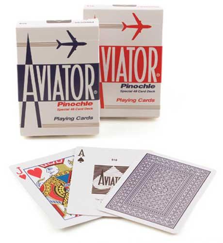 Aviator Pinochle Playing Cards Fun Card Games